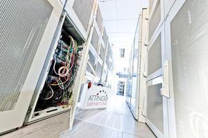 Attingo in einem Servercenter