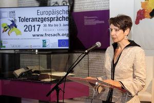 """""""Wir Europäer werden im globalen Dorf nur dann bestehen, wenn wir uns auf unsere Stärken konzentrieren, nationale Egoismen zurückstellen und die Digitalisierung als große Chance begreifen"""", erklärte Sabine Herlitschka, CEO von Infineon Technologies Austria."""