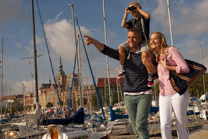Stralsund bietet gerade auch für Familien viele zauberhafte Kulissen für bleibende Foto-Erinnerungen.
