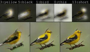 Die Microsoft-KI erstellt anhand einer Beschreibung einen Vogel.