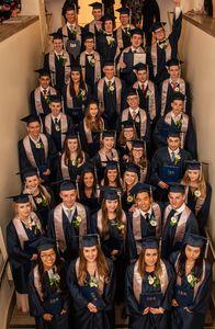 36 Absolventen der ISR Neuss