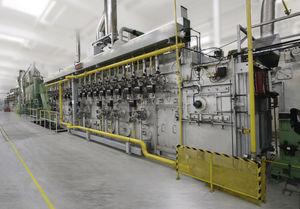 Cast link belt furnace for BULTEN,Sweden
