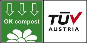 Certificazione OK compost di TÜV AUSTRIA