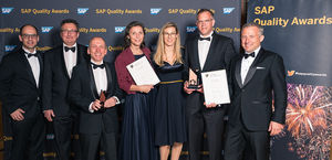 SAP Quality Awards for CNT in Heidelberg