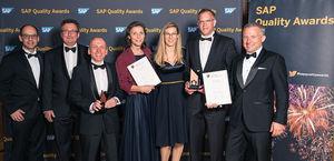 SAP Quality Award ceremony Heidelberg