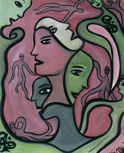 Four Faces - Carmen Coduri