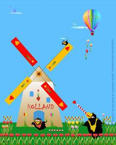 Happy Birds by Johannes Murat