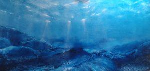 Una luz que abraza el océano by Garcia