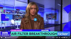 Dexwet filter study in Australia's TV