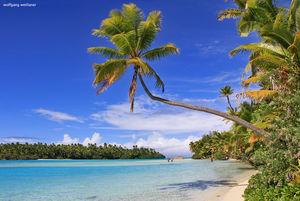 One Foot Island in der Lagune von Aitutaki ist der Inbegriff der perfekten Südsee-Idylle. In zahlreichen Reisemagazinen wurde das kleine Eiland zum besten Strand des Südpazifiks gewählt.